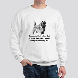 When God Created Cairn Terriers Jumper