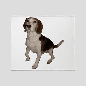 Beagle Throw Blanket