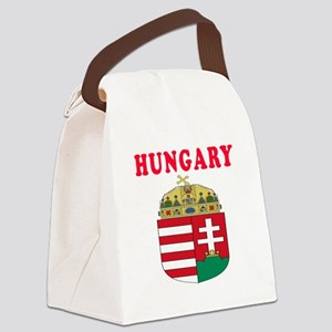 Hungary Coat Of Arms Designs Canvas Lunch Bag