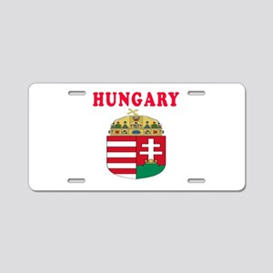 Hungary Coat Of Arms Designs Aluminum License Plat