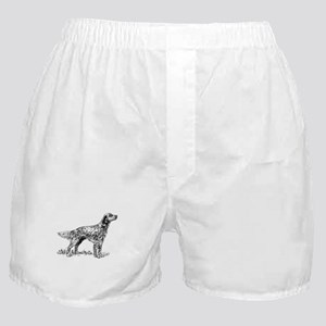 English Setter Sketch Boxer Shorts