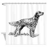 English setter Shower Curtains