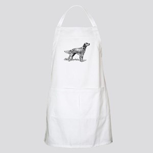 English Setter Sketch Apron