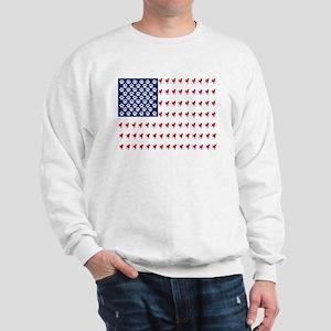 USA Dog Flag Jumper