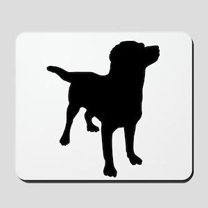 Dog Silhouette Mousepad