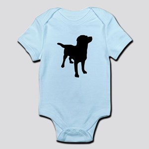 Dog Silhouette Body Suit