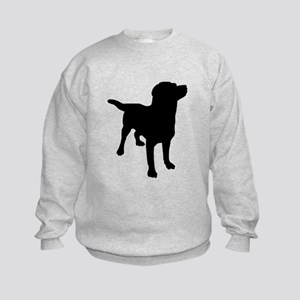 Dog Silhouette Sweatshirt