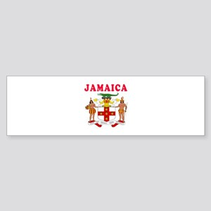 Jamaica Coat Of Arms Designs Sticker (Bumper)