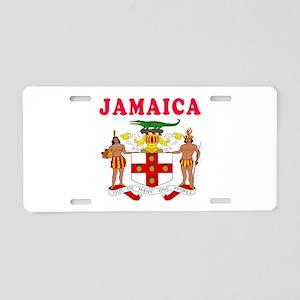 Jamaica Coat Of Arms Designs Aluminum License Plat