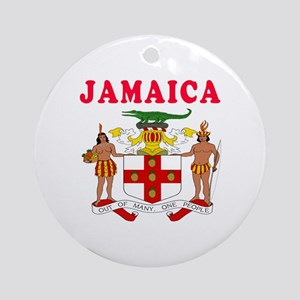 Jamaica Coat Of Arms Designs Ornament (Round)