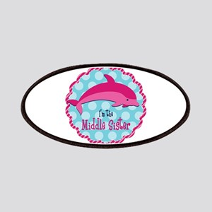 Dolphin Middle Sister Patches