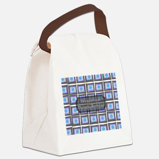 Occupational Therapy Canvas Lunch Bag