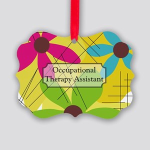 Occupational Therapy Picture Ornament