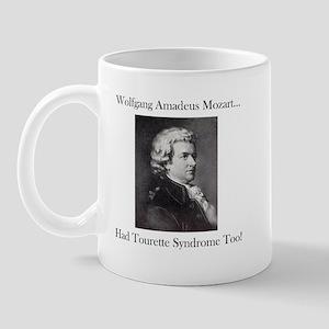 Mozart Tourette Syndrome Mug