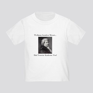 Mozart Tourette Syndrome Toddler T-Shirt
