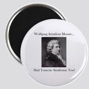 Mozart Tourette Syndrome Magnet