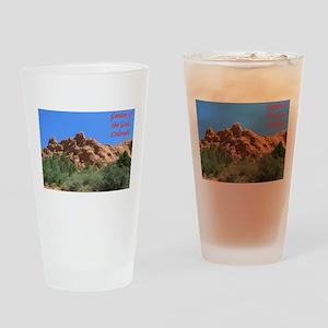 Garden Of the Gods #2 Drinking Glass