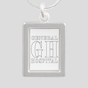 General Hospital Silver Portrait Necklace