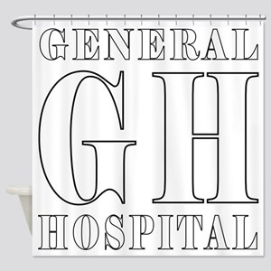 General Hospital Shower Curtain