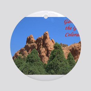 Garden of the Gods #1 Round Ornament