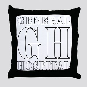 General Hospital Throw Pillow