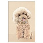 Poodle Large Poster