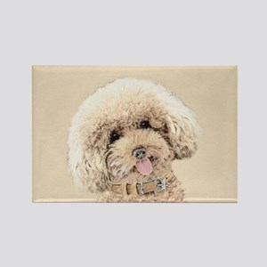 Poodle Rectangle Magnet