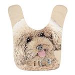Poodle Polyester Baby Bib