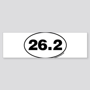 26.2 Miles Bumper Sticker