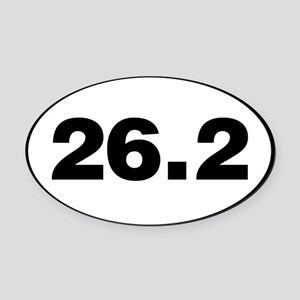 26.2 Miles Oval Car Magnet