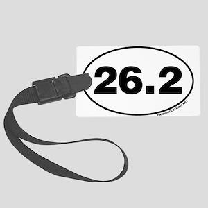 26.2 Miles Large Luggage Tag