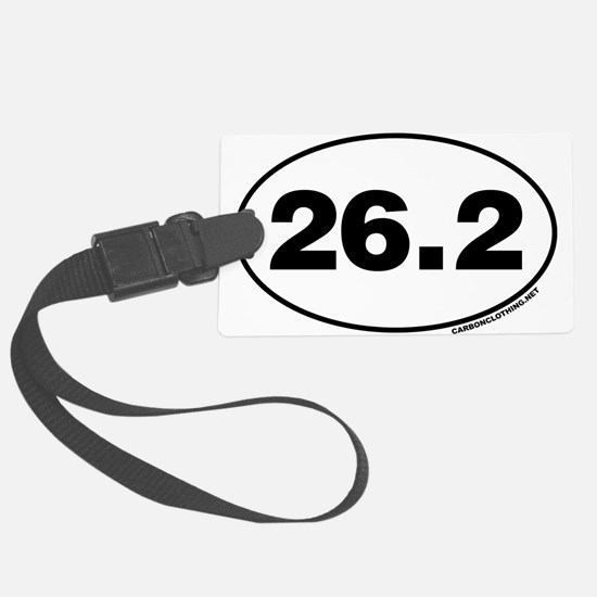 26.2 Miles Luggage Tag