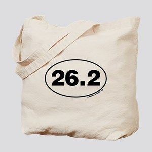 26.2 Miles Tote Bag