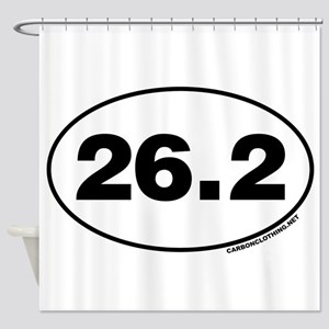 26.2 Miles Shower Curtain