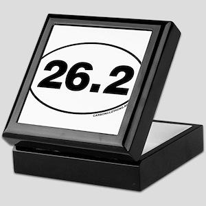 26.2 Miles Keepsake Box