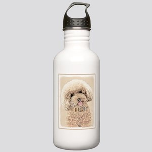 Poodle Stainless Water Bottle 1.0L