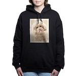 Poodle Women's Hooded Sweatshirt