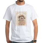 Poodle White T-Shirt