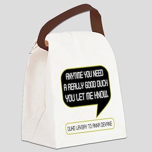 Duke Bucks Anna Canvas Lunch Bag