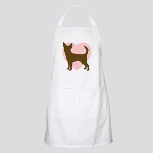 Chihuahua Heart BBQ Apron