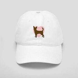 Chihuahua Heart Cap