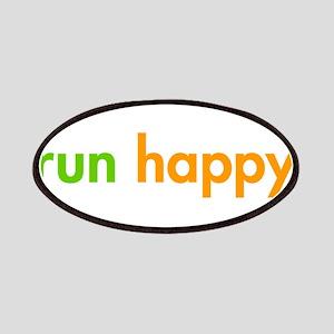 run-happy-fut-green-orange Patches