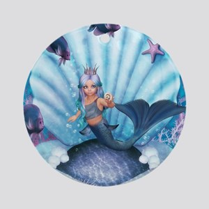 Best Seller Merrow Mermaid Ornament (Round)