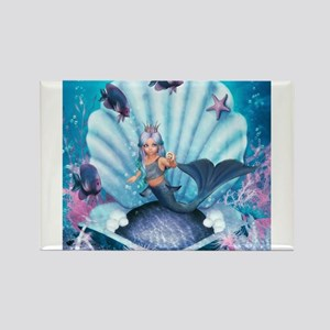 Best Seller Merrow Mermaid Rectangle Magnet
