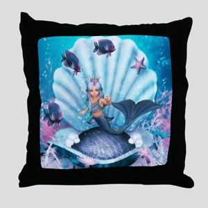 Best Seller Merrow Mermaid Throw Pillow