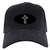 Christian cross Baseball Cap with Patch