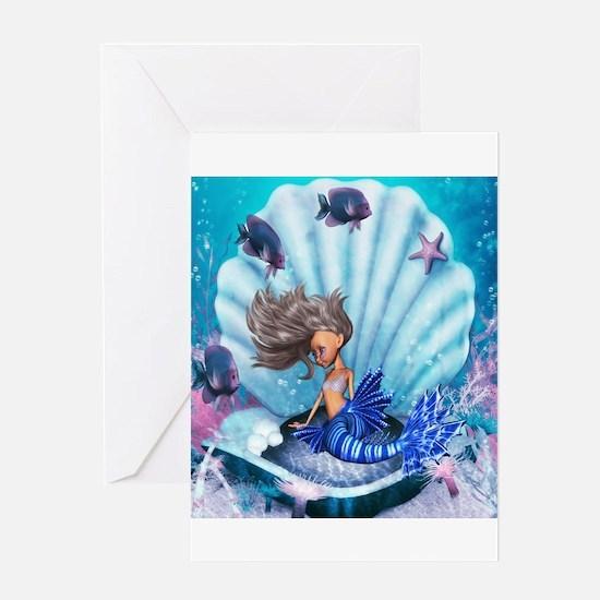 Best Seller Merrow Mermaid Greeting Card