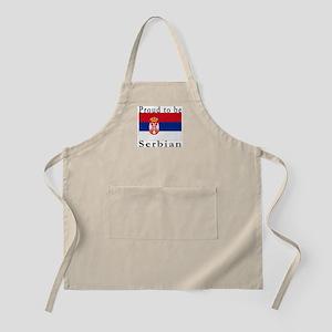 Serbia BBQ Apron