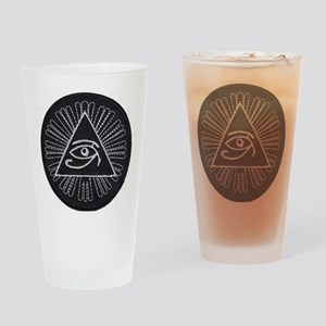 Eye of Horus Patch Drinking Glass