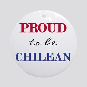 Chilean Pride Ornament (Round)